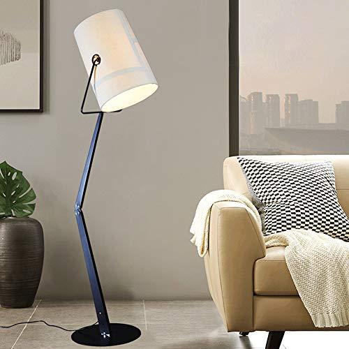 JAYLONG Floor Lamp, Modern Classical Tall Pole Standing Light, Decorative Lamps For Living Room, Office, Bedroom, Den, Dorm,White steampunk buy now online