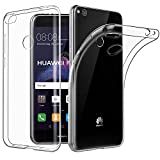 Huawei P8 Lite 2017 Hülle Hülle, EasyAcc Crystal Ultra Dünn Crystal Clear Transparent Handyhülle Cover Soft Premium-TPU Durchsichtige Schutzhülle Backcover Slimcase für Huawei P8 Lite 2017