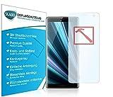 Slabo Lámina de Vidrio Premium para Sony Xperia XZ3 Protectora Protector de Pantalla Templado Tempered Glass Claro dureza 9H
