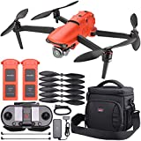 Autel Robotics EVO II PRO 6K Foldable Quadcopter Drone with 3-Axis Gimbal & On-The-Go Bundle - Includes: 2X EVO II LiPo Flight Batteries (7100mAh) + Autel Shoulder Bag + Replacement Propellers + More