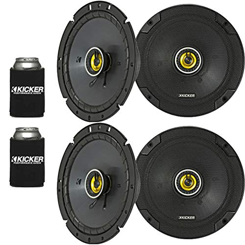 Kicker 46CSC674 - Two Pairs of CS-Series CSC67 6.75-Inch (165mm) Coaxial Speakers, 4-Ohm (2 Pairs)
