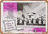 1955ロックンロールレビューコレクタブルウォールアート