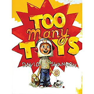 Too Many Toys audiobook cover art