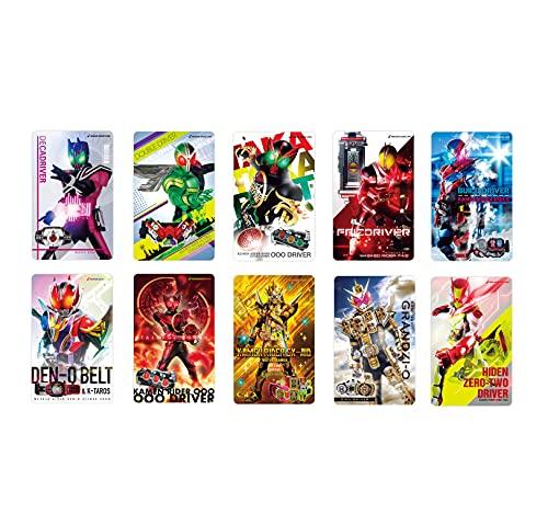 仮面ライダー 変身サウンドカード(10種セット)