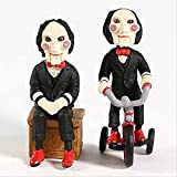 Geyang 2 Unids/Set Película De Terror VIO Billy PVC Figura Colgante Modelo De Juguete