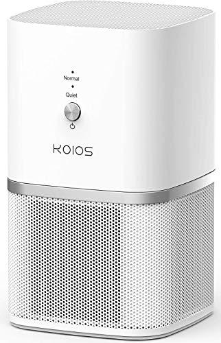 KOIOS Air Purifier for Home Bedroom, True HEPA Air Filter
