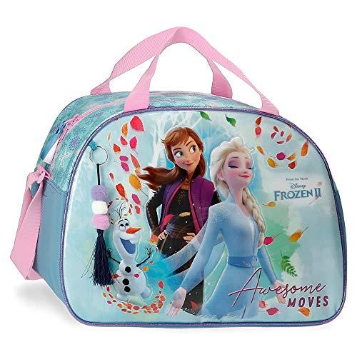 Frozen Awesome Moves Bolsa de Viaje, Azul