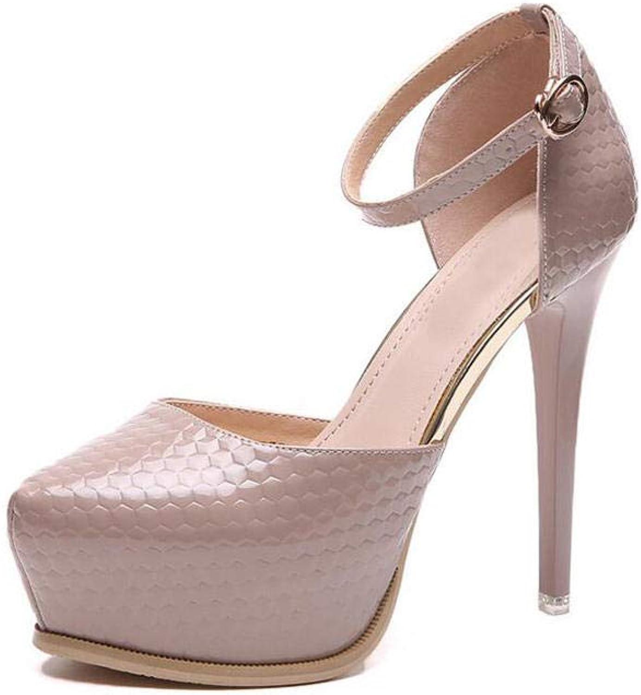 High Heels 12cm High Heels weibliche Stilettos mit Sandalen