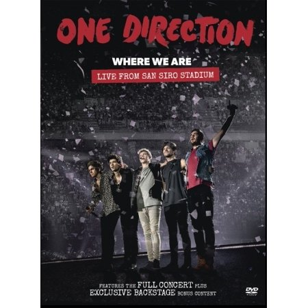 ONE DIRECTION - WHERE WE ARE : LIVE FROM SAN SIRO STADIUM (1 Disc) (Region code : all)