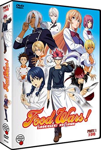 Food Wars - Temporada 1 Parte 1 [DVD]