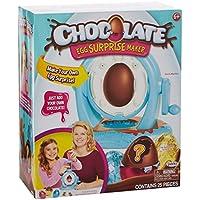 Chocolate Egg Surprise Huevo DE Chocolate, Multicolor, Talla única (Jakks Pacific 64719-EU)