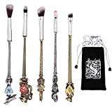 Wizard Wand Brushes, 5 PCS Potter Makeup...