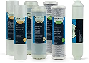 Austin Springs 1-Year Replacement Set for AS-RO-75 Water Filter