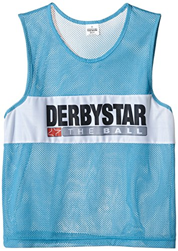Derbystar - Peto Unisex para diferenciar Equipos Azul petróleo Talla:Senior