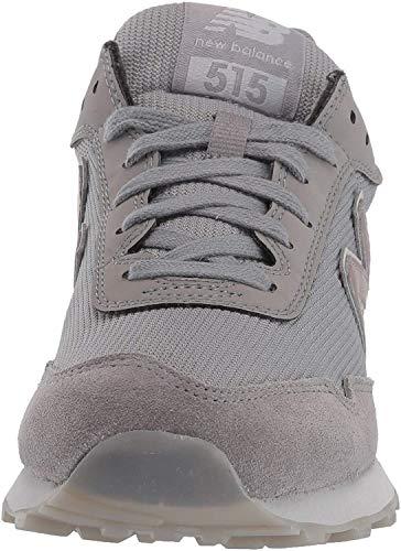 New Balance Women's 515 V1 Sneaker, Marblehead/Rain Cloud/Rose Gold Metallic, 7.5 M US