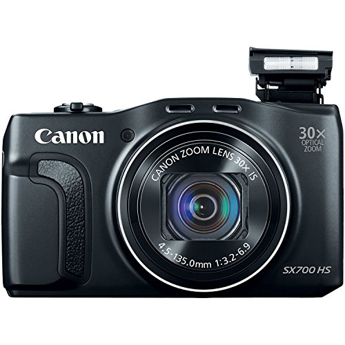 Canon PowerShot SX700 HS Digital Camera - Wi-Fi Enabled (Black)