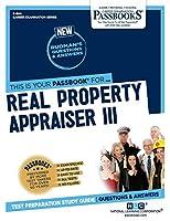 Real Property Appraiser III (Career Examination)
