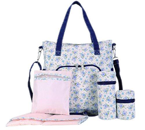 Skinly un sac à dos de change floral, style estival