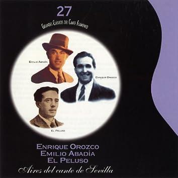 Grandes Clásicos del Cante Flamenco. Vol. 27: Aires del Cante de Sevilla