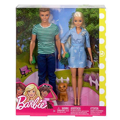 Barbie et Ken Coffret Cadeau Ensemble avec Chiot - 5