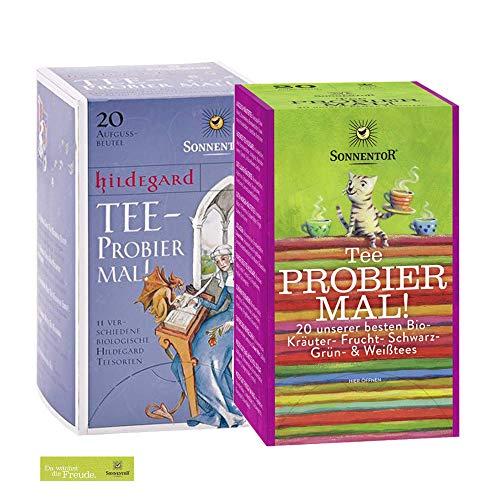 Sonnentor Probierset: Tee-Probier Mal + Hildegard Tee-Probier mal BIO 301