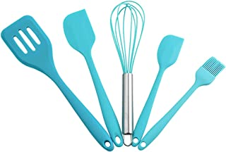 Kitchen Utensil Sets 5 PCS Silicone Cooking Utensil Sets Heat Resistant Cookwares Kitchen Appliances for Cooking Gadgets