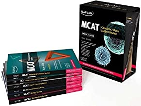 Best MCAT 7 Book Set 3rd Edition + MCAT Quicksheets + MCAT Lesson Book + MCAT High Yield Review