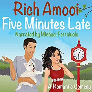 Five Minutes Late audiobook cover art