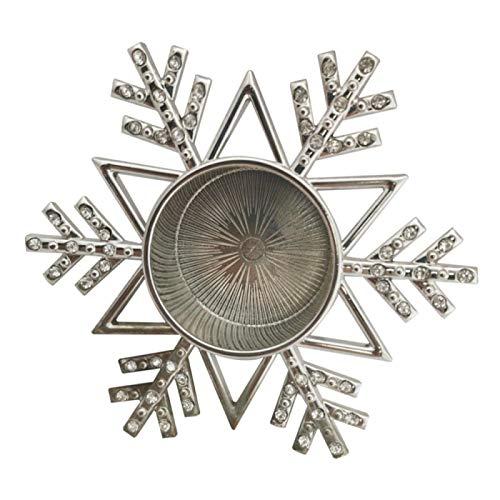 candelabri,moderni,da esterno,Decorazione per feste,Vecchio stile,1Pc Portacandele a forma di fiocco di neve Candeliere natalizio Candela aromatica Cup