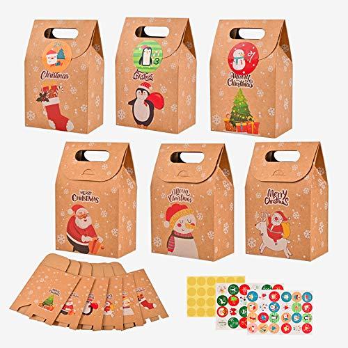 Amazon - Christmas Bags 24 Pack $12.79