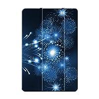 Sepikey iPad Pro 12.9 2018/iPad Pro 保護カバー,キズ防止 耐久性 三つ折タイプ レザー 保護ショックプルーフ 三つ折 カバー iPad Pro 12.9 2018/iPad Pro Case-花火14