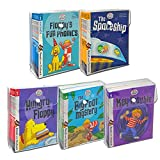 Biff, Chip and Kipper Stage 1 - 5 Read with Oxford: 3+: 88 Phonics Books Collection Set (Stage 1 First Step, 2 Early Reader, 3 Growing Reader, 4 Gaining Confidence & Stage 5 Becoming Independent)