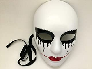 The Purge mask Anarchy Purge Movie Red Lips Women mask Horror Purge Masked Men Halloween Costume Party