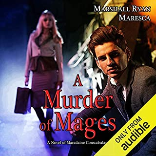 A Murder of Mages audiobook cover art