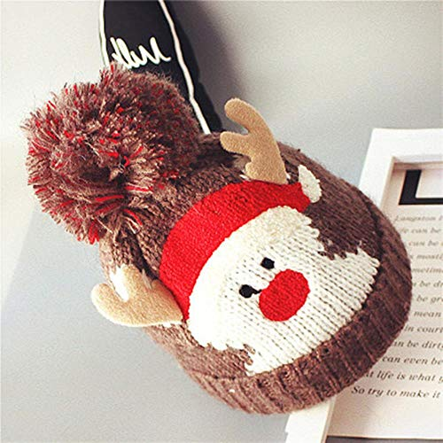 Jfs   Christmas Hat    Winter Warm Crochet Knit Hat...