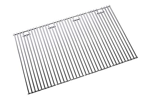 Replace parts 4-Pack Stainless Steel BBQ Grill Grates for Bull Most Models 19.25  x 7.5  OEM 16517,Steer Premium 69008,69009, Lonestar Select 87048,87049, 7 Burner Premium 18248,18249
