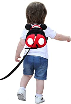 Yimidear Baby Anti-Lost Harness Toddler Backpack with Safety Leash