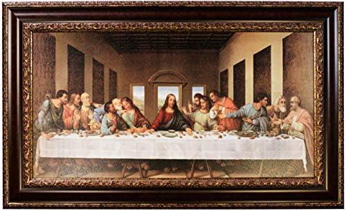 Mom s Art Studio Last Supper Wall Decor 46 5 X 28 Inches Leonardo Da Vinci Reproductions Museum product image