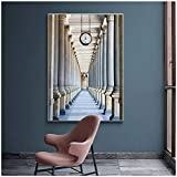 Karlovy Vary Colonnade Posters   Wall Art Canvas Classic Building Wall Pictures For Living Room Home Artwork -50x70cm No Frame