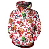 Moda Sudaderas con capucha 3D Sudaderas Hombres Mujeres Sudadera con capucha de Navidad Chándal Hombres Harajuku Hip Hop Streetwear Sudadera con capucha Outwear Top-como muestra de imagen, XL