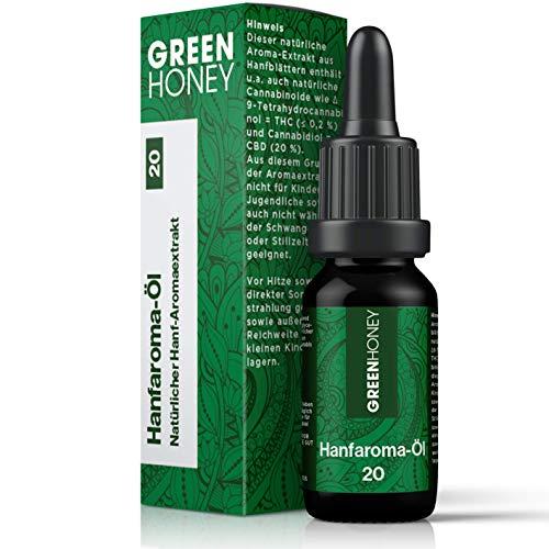 GREENHONEY® HANFAROMA Öl 20% - MADE IN...