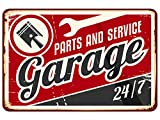 Oedim Matricula Decorativa Garage 30,00 x 20,00 cm   Decoración Pared   Aluminio 3 mm Resistente