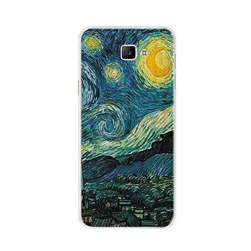 AAAundLIU Handyhülle für Samsung Galaxy J5 Prime Hülle für Samsung On5 2016 Hülle Silikon F&a für Samsung J5 Prime G570 G570F Hülle, Elfenbein, für Samsung J5 Prime