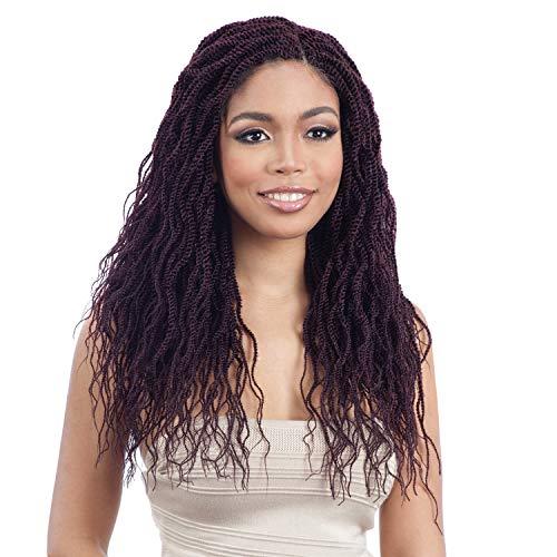 MULTI PACK DEALS! ModelModel Synthetic Hair Crochet Braids Glance 3X Wavy Feathered Twist 16