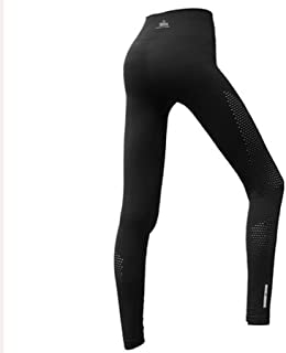 HXLG Women's Yoga Pants with High Waist Tummy Control Workout Leggings Running Tights Stretch Sports Trousers (Color : Black, Size : M)