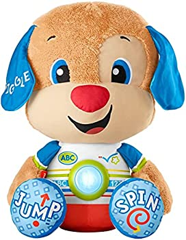 Fisher-Price Laugh & Learn So Big Puppy Interactive Musical Plush Toy