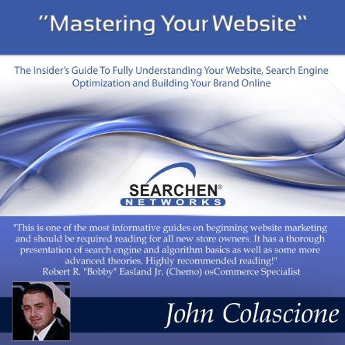Mastering Your Website audiobook cover art