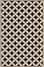Granitec Alfombra de Vinil. CREA una decoración Moderna, única y con Mucha Personalidad. Son Muy Resistentes, antialérgicas, Antideslizantes, ignífugas e Impermeables. Medidas: 95x138x0,2cm