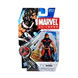 Marvel Universe 3 3/4 Inch Series 6 Action Figure #3 Warpath Blue Red