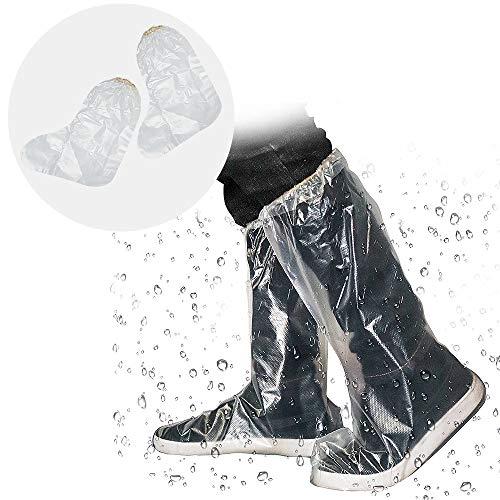 シューズカバー 使い捨て 靴カバー くつカバー ブーツカバー 完全防水 防水 雪 雨 泥避け フリーサイズ 雨...
